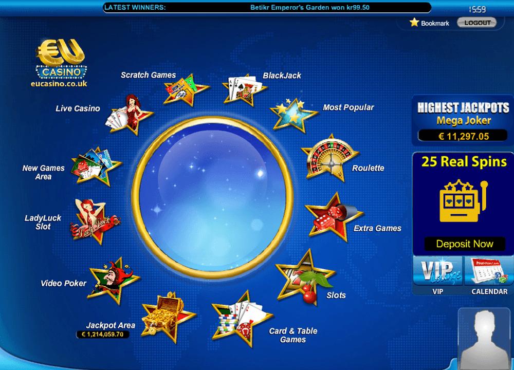 best online casinos eu