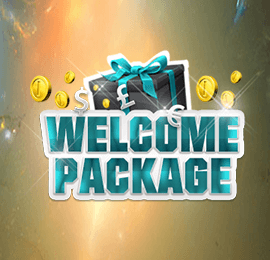 WELCOME PACKAGE, No Wagering on Free Spins